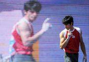 تمرینات سنگ نورد کرمانی برای المپیک قطر