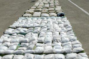 کشف ۴۲ تن مواد مخدر در استان کرمان