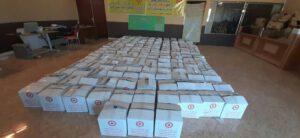 توزیع بیش از ۶۰۰ بسته بهداشتی در کرمان