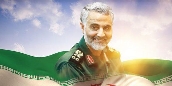 رونمایی از تندیس سردار در مرز فلسطین و لبنان