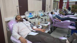 تکریم ارباب رجوع در مجموعه انتقال خون شایسته تقدیر است
